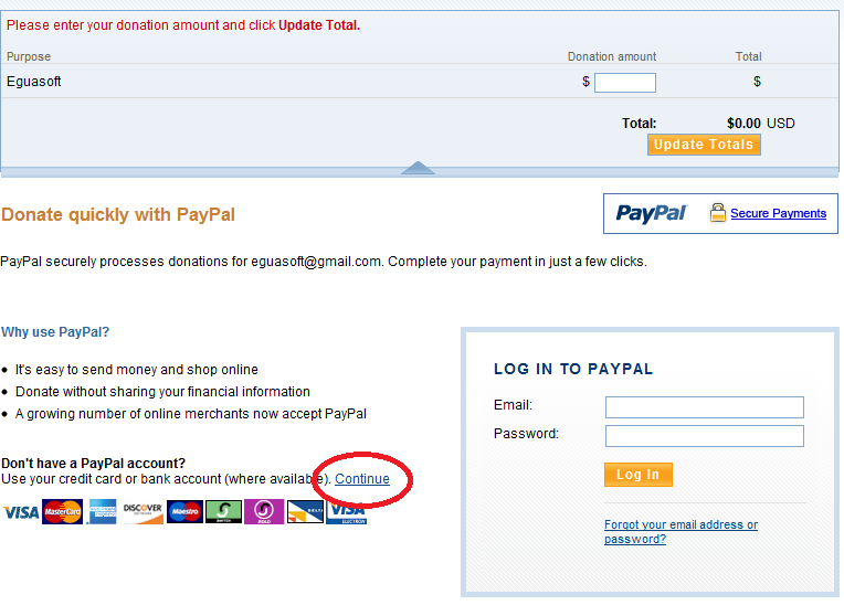 activation code paypal