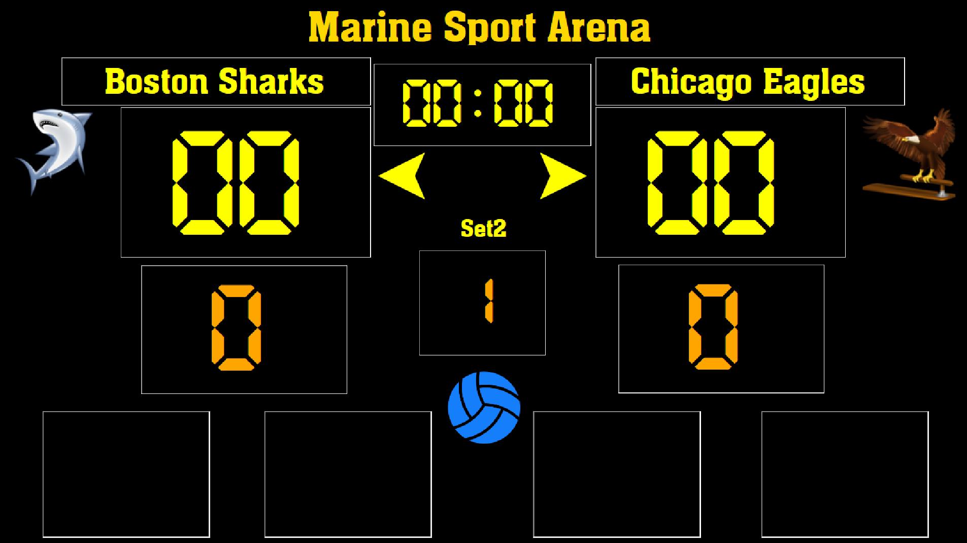 Eguasoft Volleyball Scoreboard